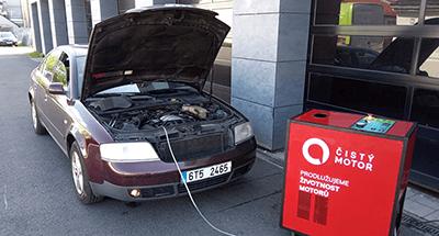dekarbonizace auta Škoda Octavia I