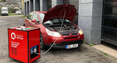 dekarbonizace auta Citroen C4