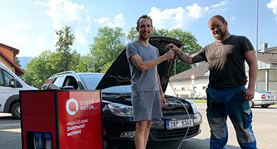 dekarbonizace auta Škoda Octavia III
