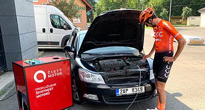 dekarbonizace auta Škoda Octavia II